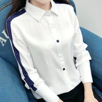 Áo Sơ Mi Trắng Nữ Hàn Quốc - ASMT51