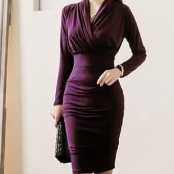 Đầm Công Sở Đẹp - VDDS56