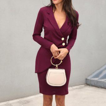 Váy Đầm Công Sở Cao Cấp - VDCS52