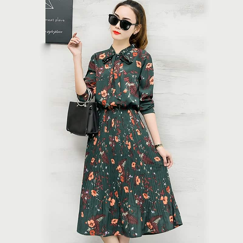 Váy Hoa Cao Cấp - VDVH52