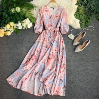 Váy Hoa Đẹp - VDVH56