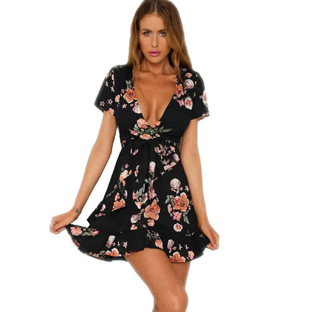 Váy Hoa Giá Rẻ - VDVH57